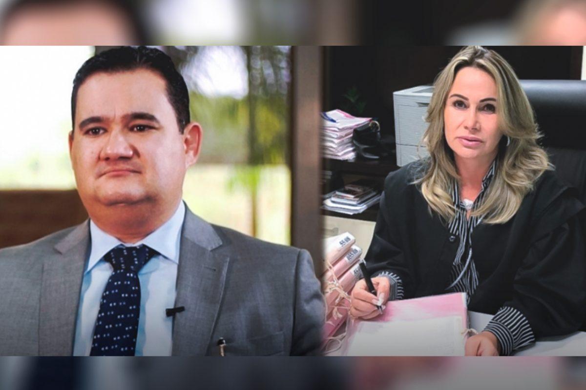 Bruno D'Oliveira Marques e Célia Regina