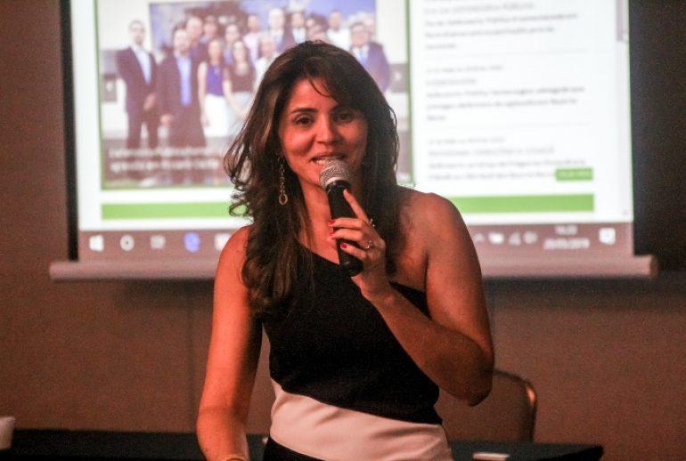 Secretária executiva da DPMT, Luziane Castro